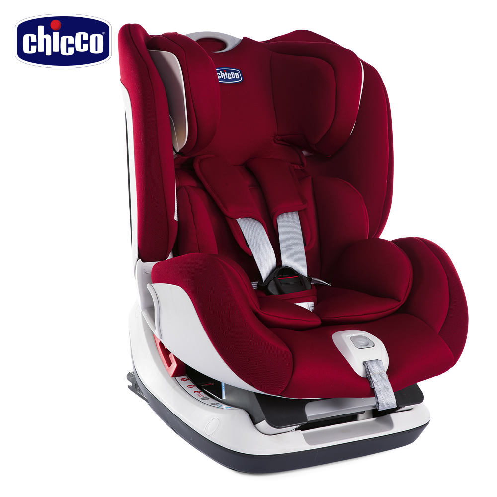 chicco-Seat up 012 Isofix安全汽座-熱情紅