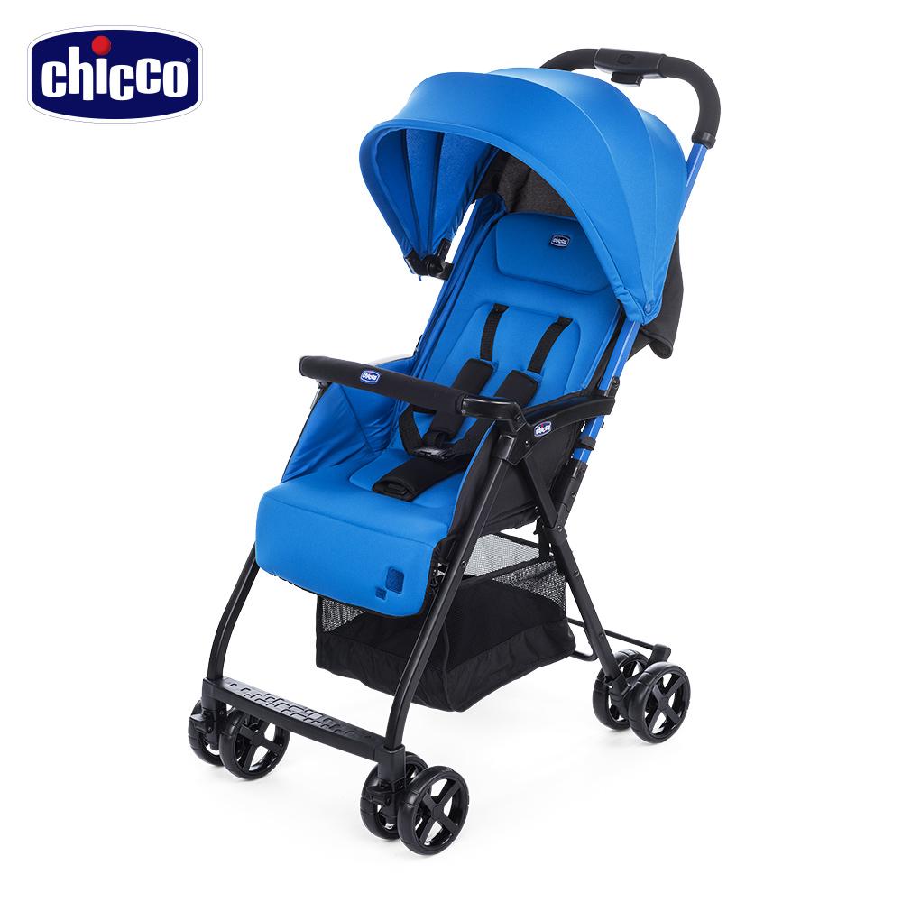 chicco-Ohlalà2都會輕旅手推車-天蔚藍