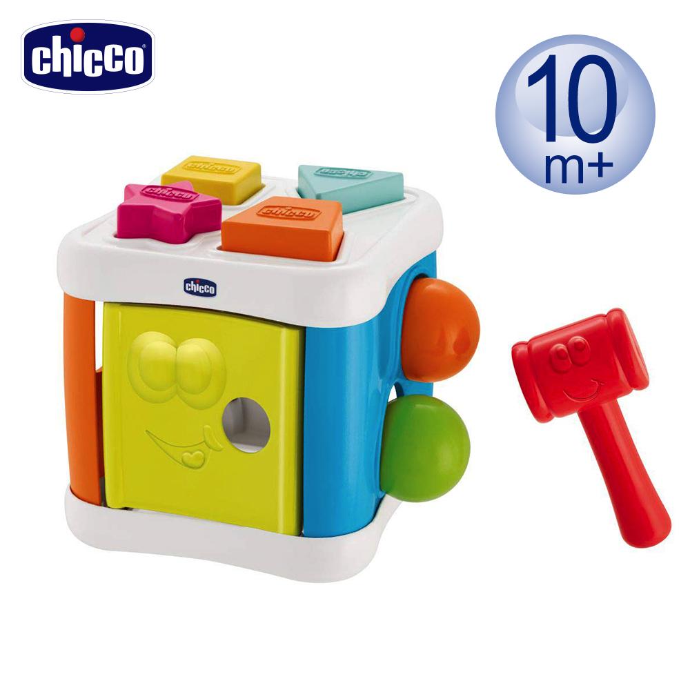 chicco-Smart 2 Play 益智趣味幾何敲敲樂
