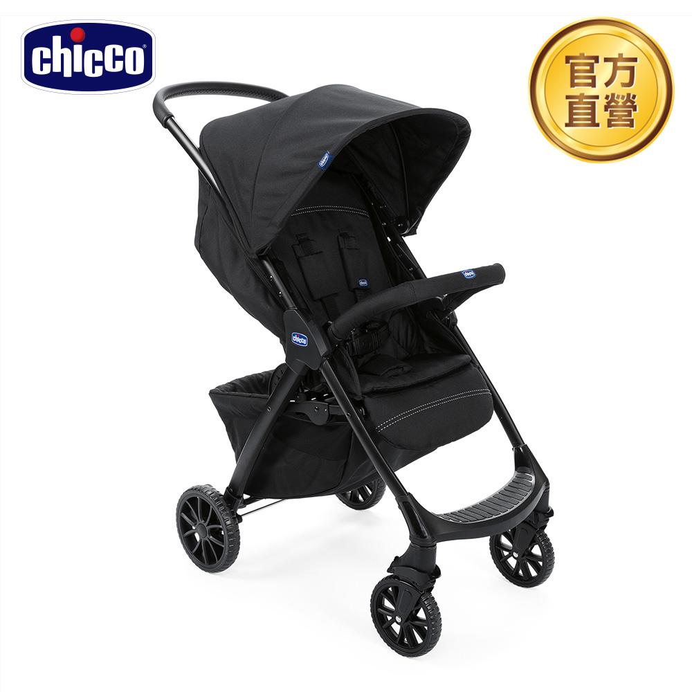 chicco-Kwik.One輕量休旅秒收車標配版-鋼鐵黑