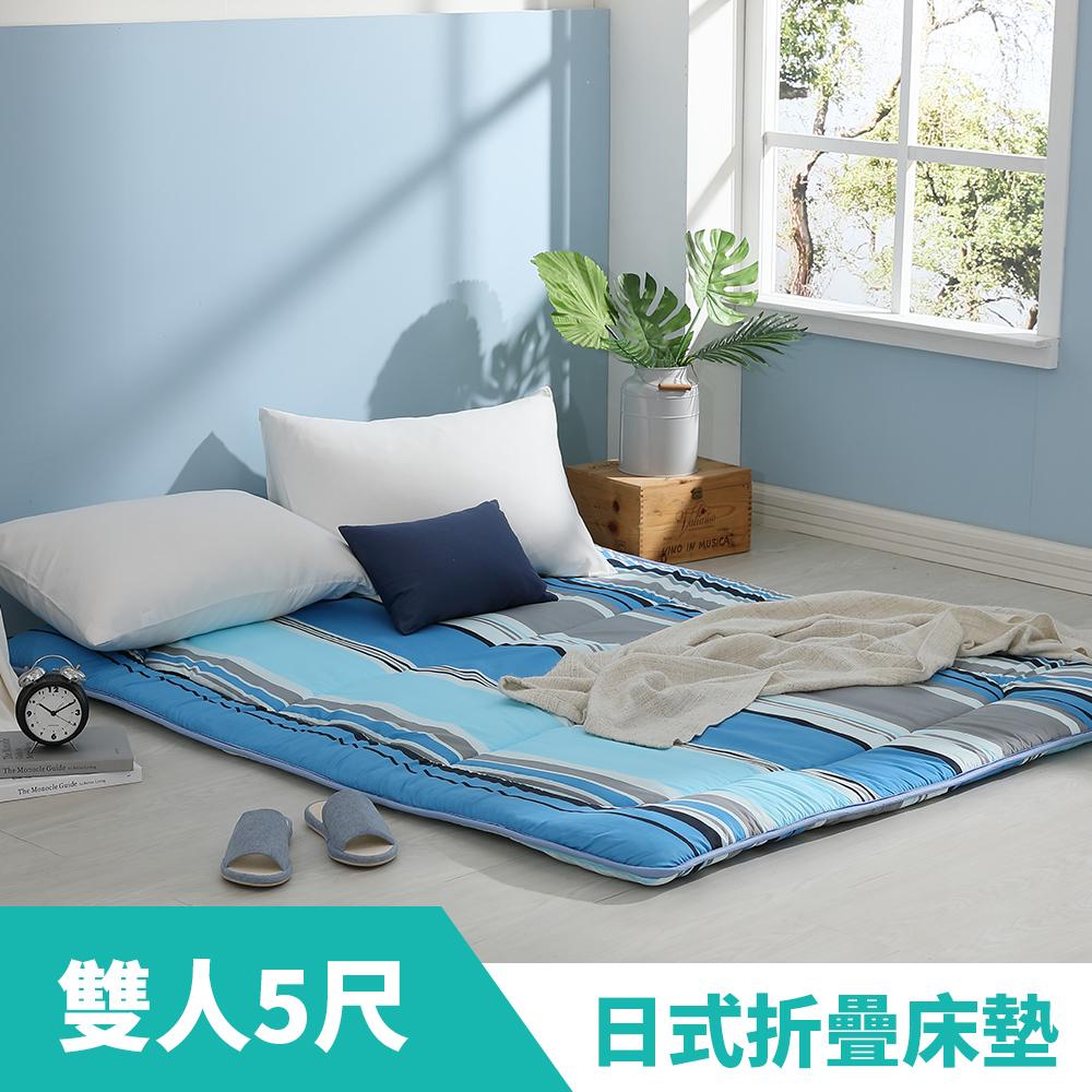 LAMINA 摩登條紋日式床墊5cm(雙人)