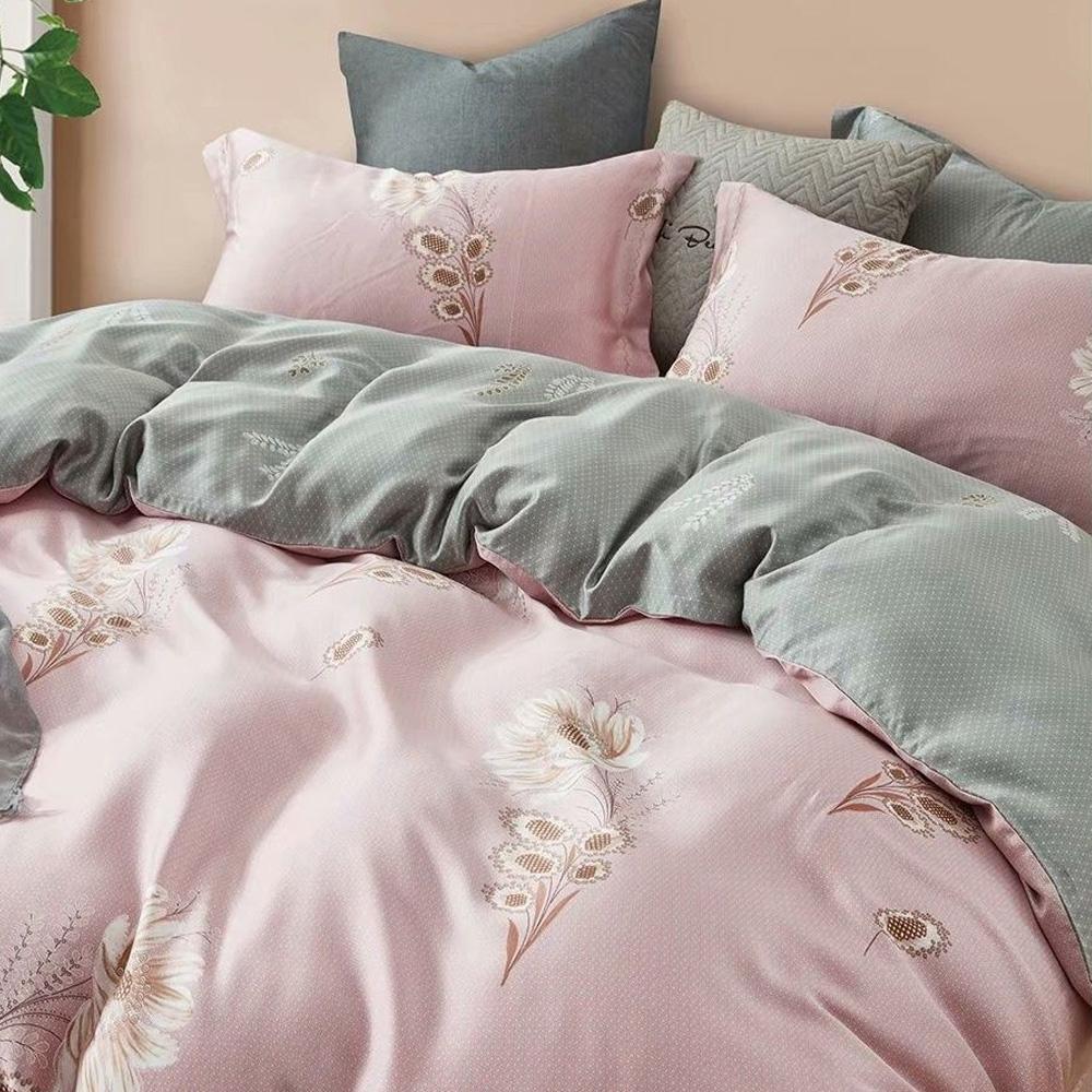 LAMINA 幽幽暗香 100%天絲枕套床包組 單人