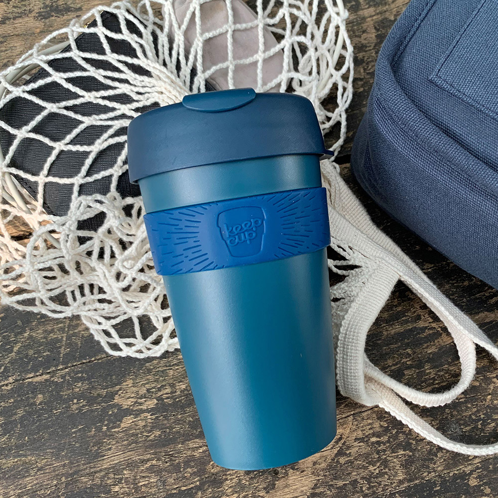 【雙11特談】澳洲 KeepCup 隨身杯 L - 優雅藍
