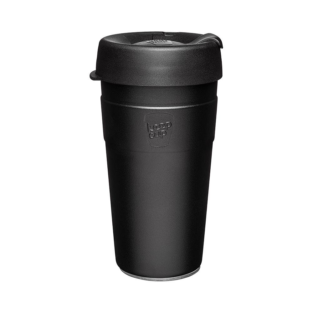 【雙11特談】澳洲 KeepCup 雙層真空隨身杯 L - 魅力黑