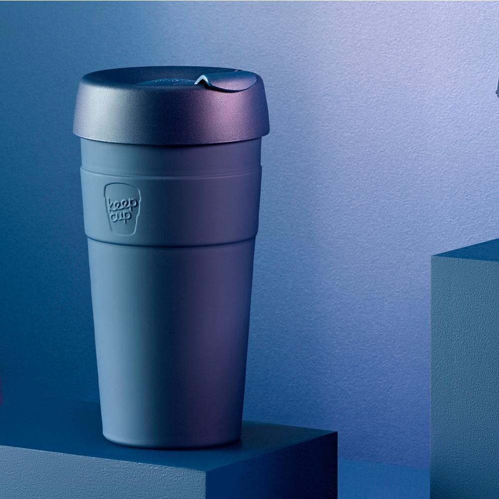 【雙11特談】澳洲 KeepCup 雙層真空隨身杯 L - 優雅藍