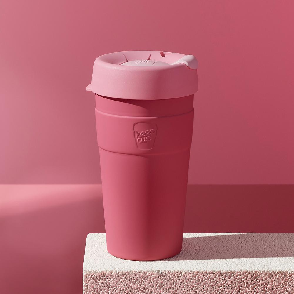 【雙11特談】澳洲 KeepCup 雙層真空隨身杯 L - 甜心粉