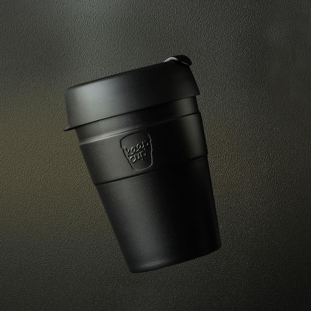 【雙11特談】澳洲 KeepCup 雙層真空隨身杯 M - 魅力黑