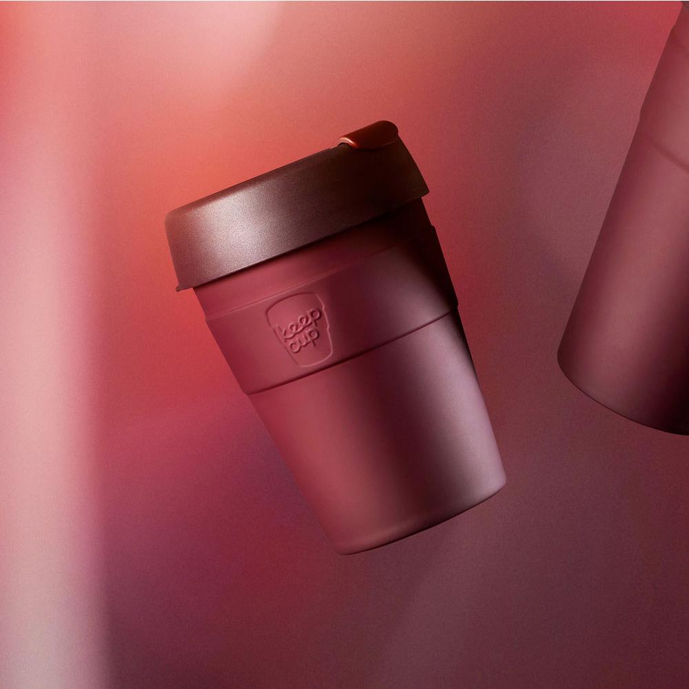 【雙11特談】澳洲 KeepCup 雙層真空隨身杯 M - 甜酒紅