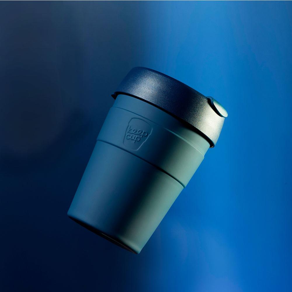 【雙11特談】澳洲 KeepCup 雙層真空隨身杯 M - 優雅藍