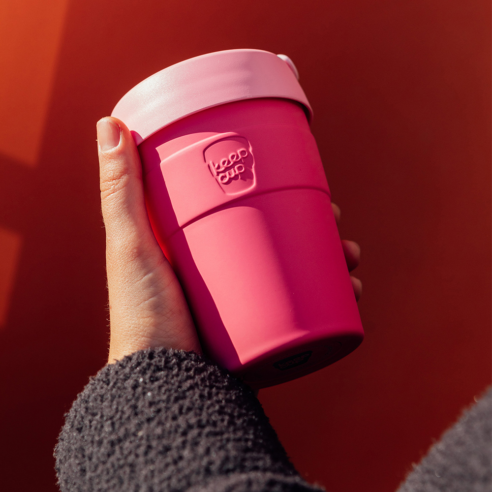 【雙11特談】澳洲 KeepCup 雙層真空隨身杯 M - 甜心粉
