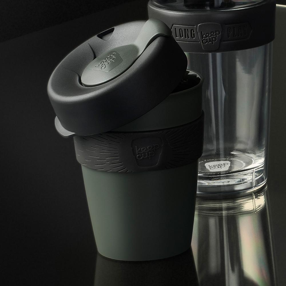 【雙11特談】澳洲 KeepCup 隨身杯 M - 鎧甲銀