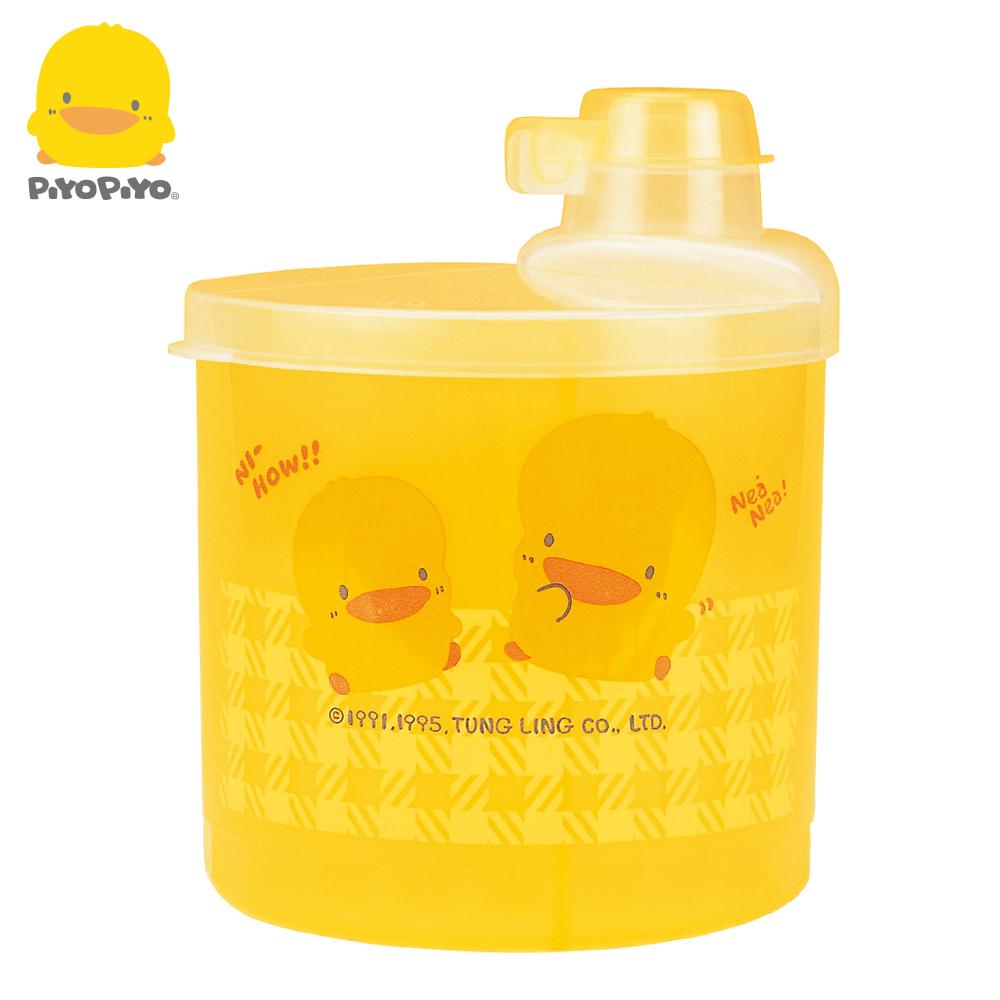 黃色小鴨《PiyoPiyo》半透明四格奶粉罐(大)