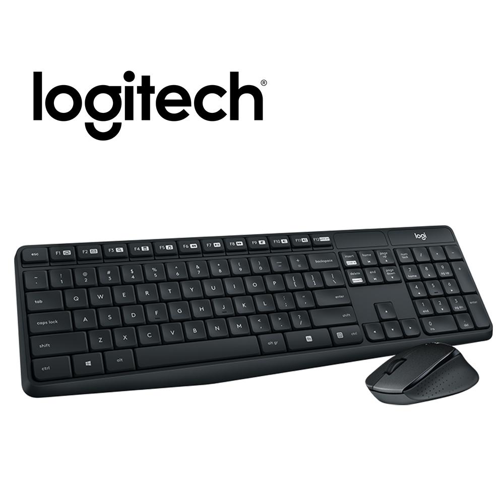 羅技 MK315 無線靜音鍵盤滑鼠組