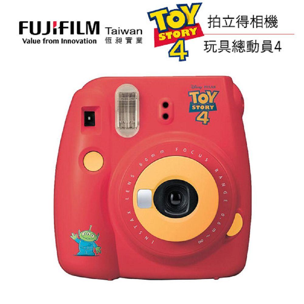 FUJIFILM instax mini 9 玩具總動員4 拍立得相機 (公司貨)