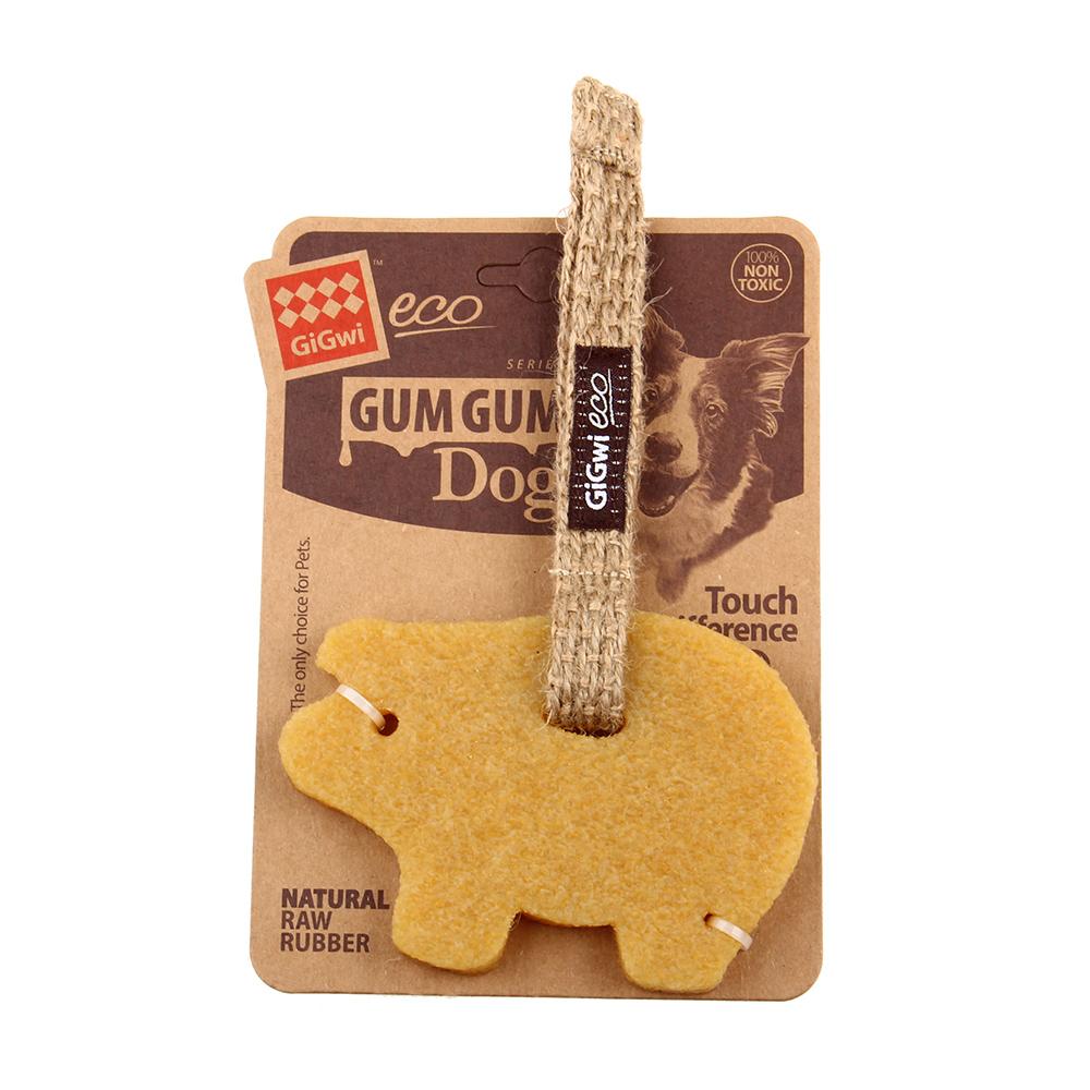 GiGwi狗狗咬咬樂-胖胖豬耐咬玩具