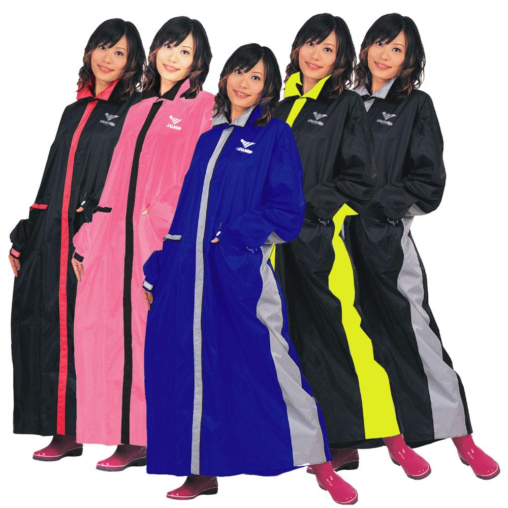【JUMP】優帥前開連身型休閒風雨衣(2XL~4XL)JP3889