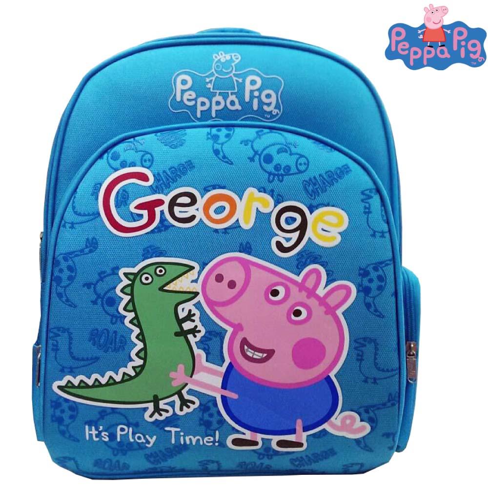 Peppa Pig 粉紅豬 EVA 護脊書包(藍)PP571500B