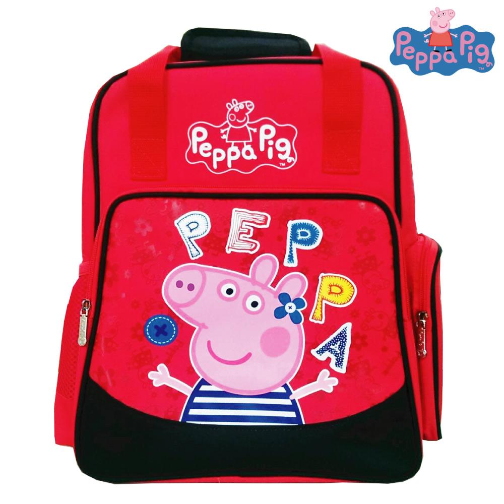 Peppa Pig 粉紅豬 兩用護脊書包(A)PP580700A