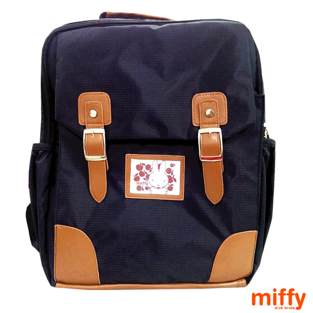 Miffy 米飛 輕巧護脊後背包(黑)MI560900A