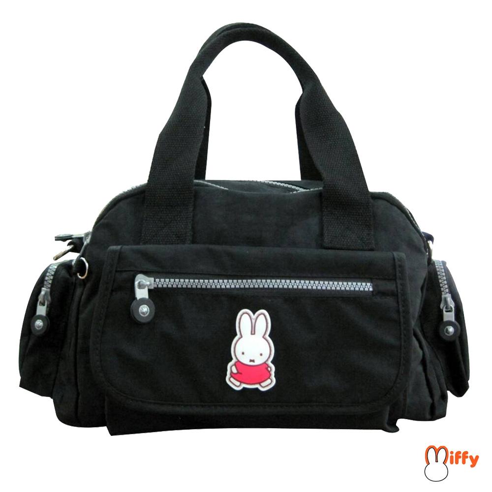 Miffy 米飛皺皺布提袋_暗夜黑MI552400A