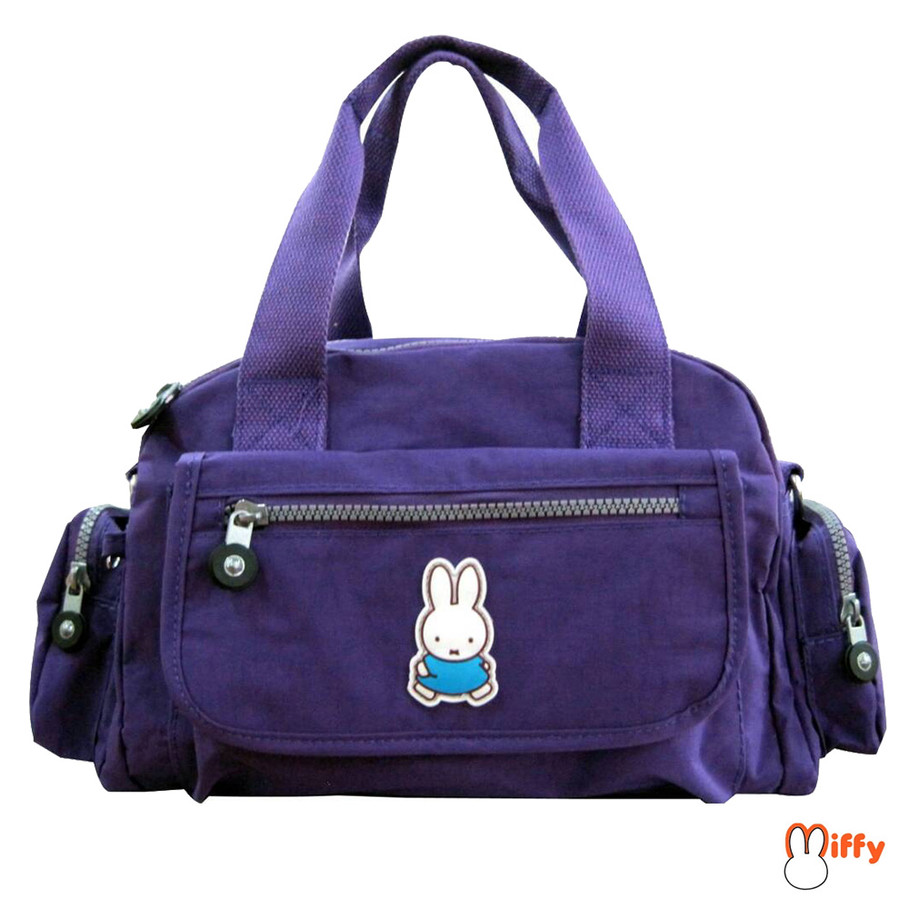 Miffy 米飛皺皺布提袋_葡萄紫MI552400B