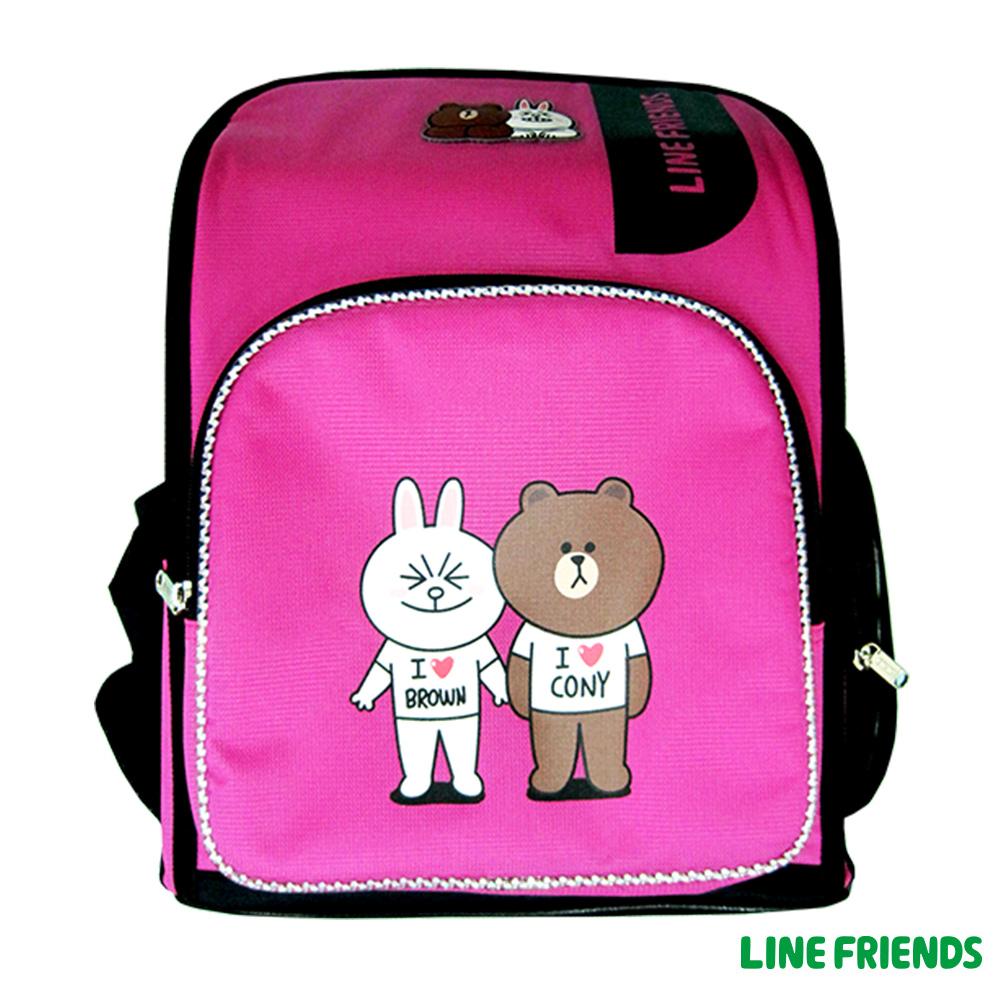 LINE FRIENDS MIT 舒壓護脊書包(兔兔)LI520300C