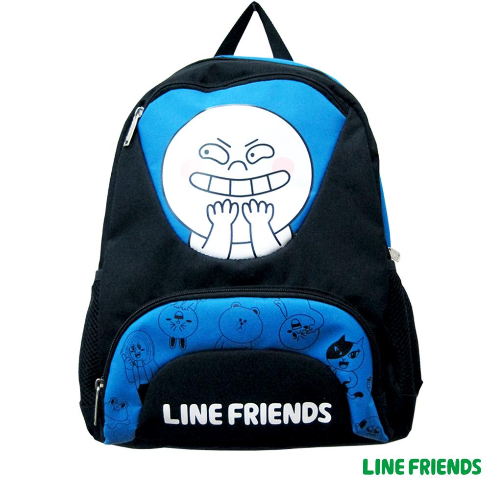 LINE FRIENDS 後背書包(饅頭人)LI517300B