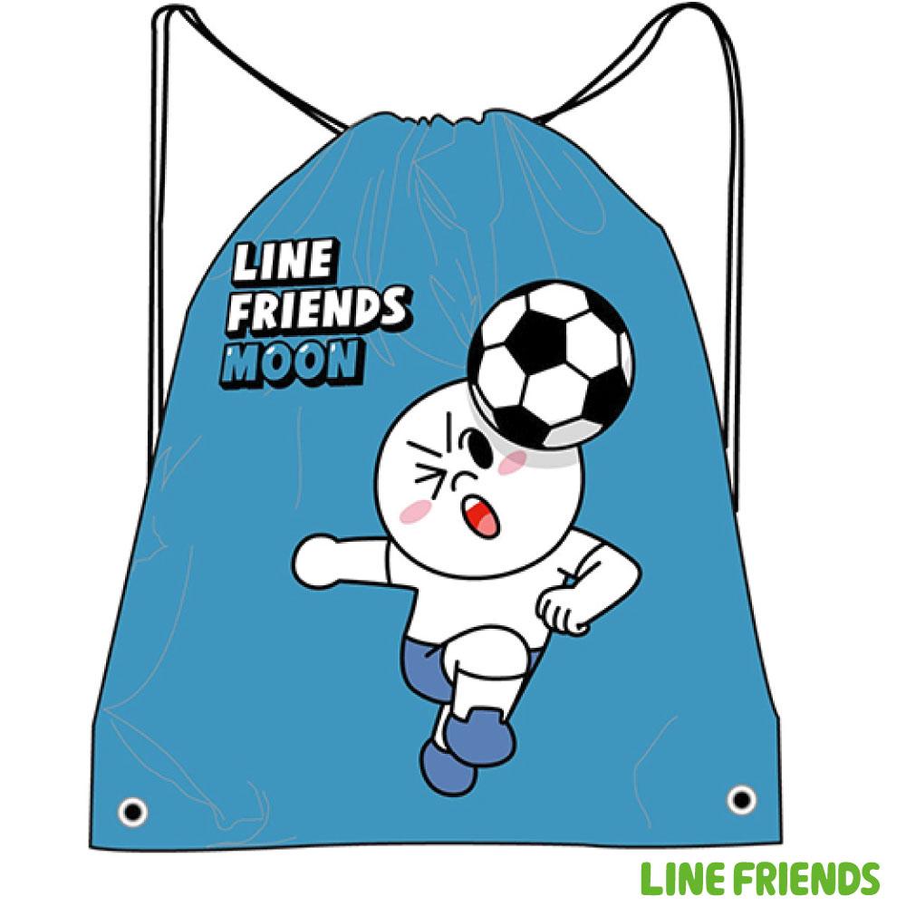 LINE FRIENDS 束口後背袋LI500A