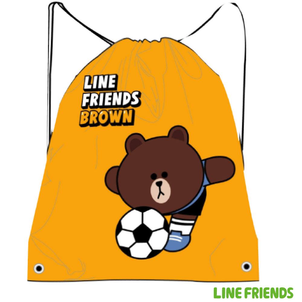 LINE FRIENDS 束口後背袋LI500B