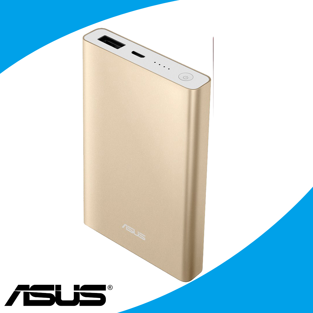 【福利網獨享】ASUS ZenPower Pocket行動電源-6000mAh-金
