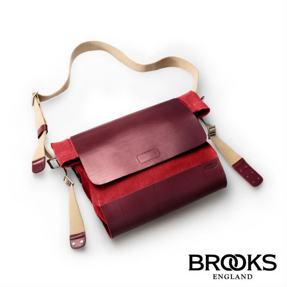 【BROOKS】BRIXTON帆布斜肩/手提雙用背包