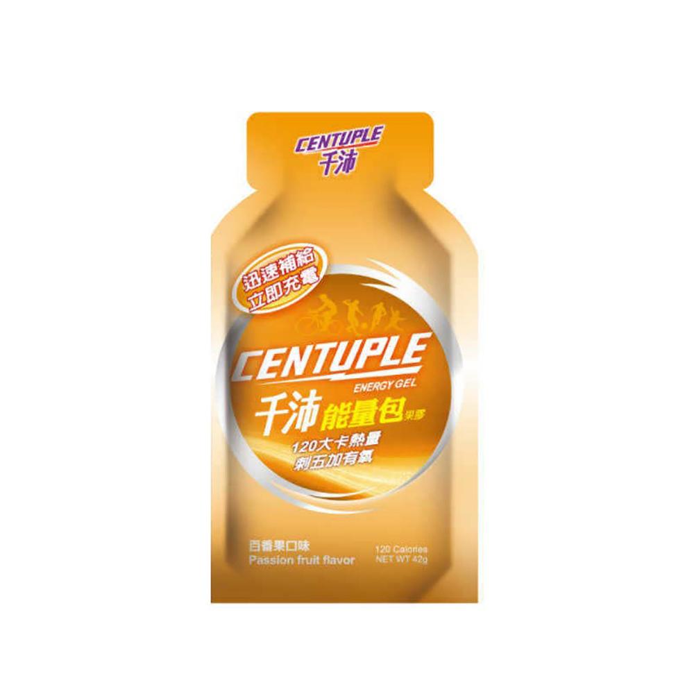 【千沛CENTUPLE】能量包果膠-百香果口味 24包/盒