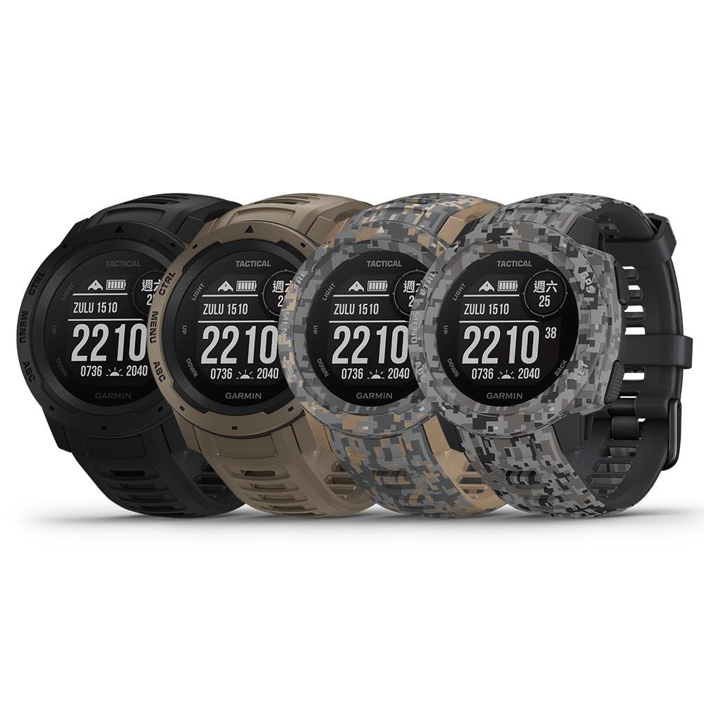 【GARMIN】INSTINCT Tactical 本我系列 軍事戰術版 GPS腕錶