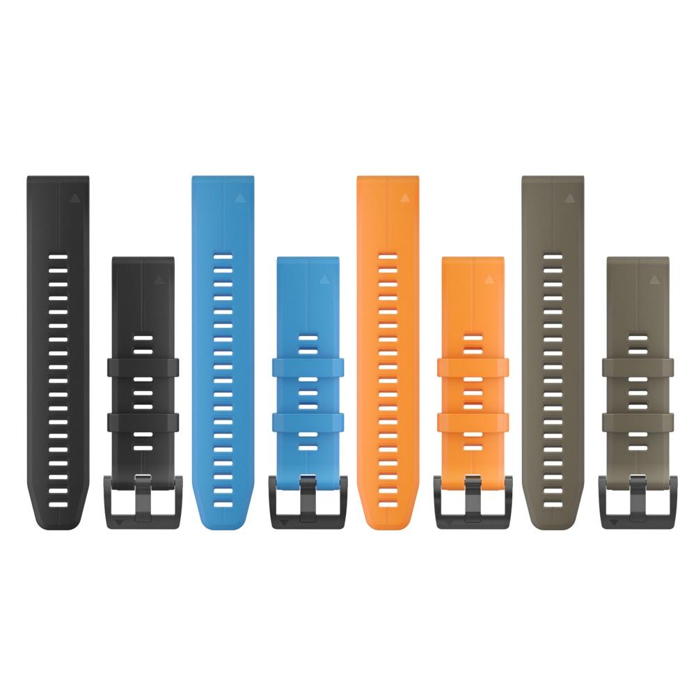 【GARMIN】QUICKFIT 22mm 矽膠錶帶
