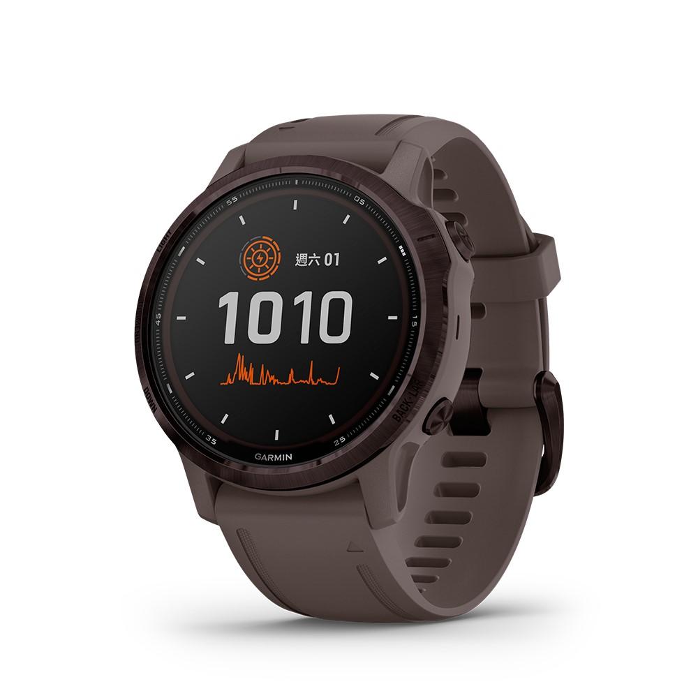 【GARMIN】Fenix 6S Pro 進階太陽能複合式運動 GPS 腕錶