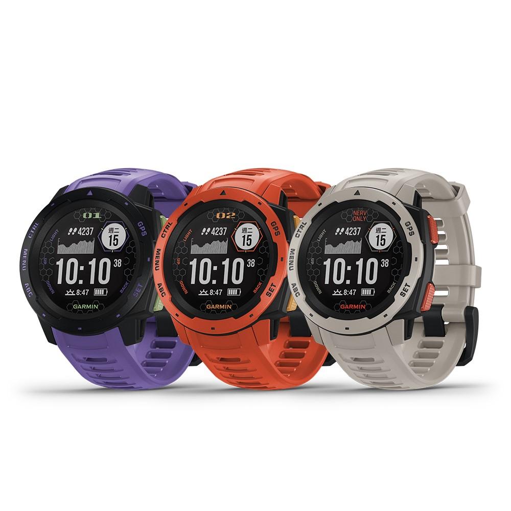 【GARMIN】INSTINCT Evangelion 本我系列 GPS 腕錶(新世紀福音戰士 限定版)
