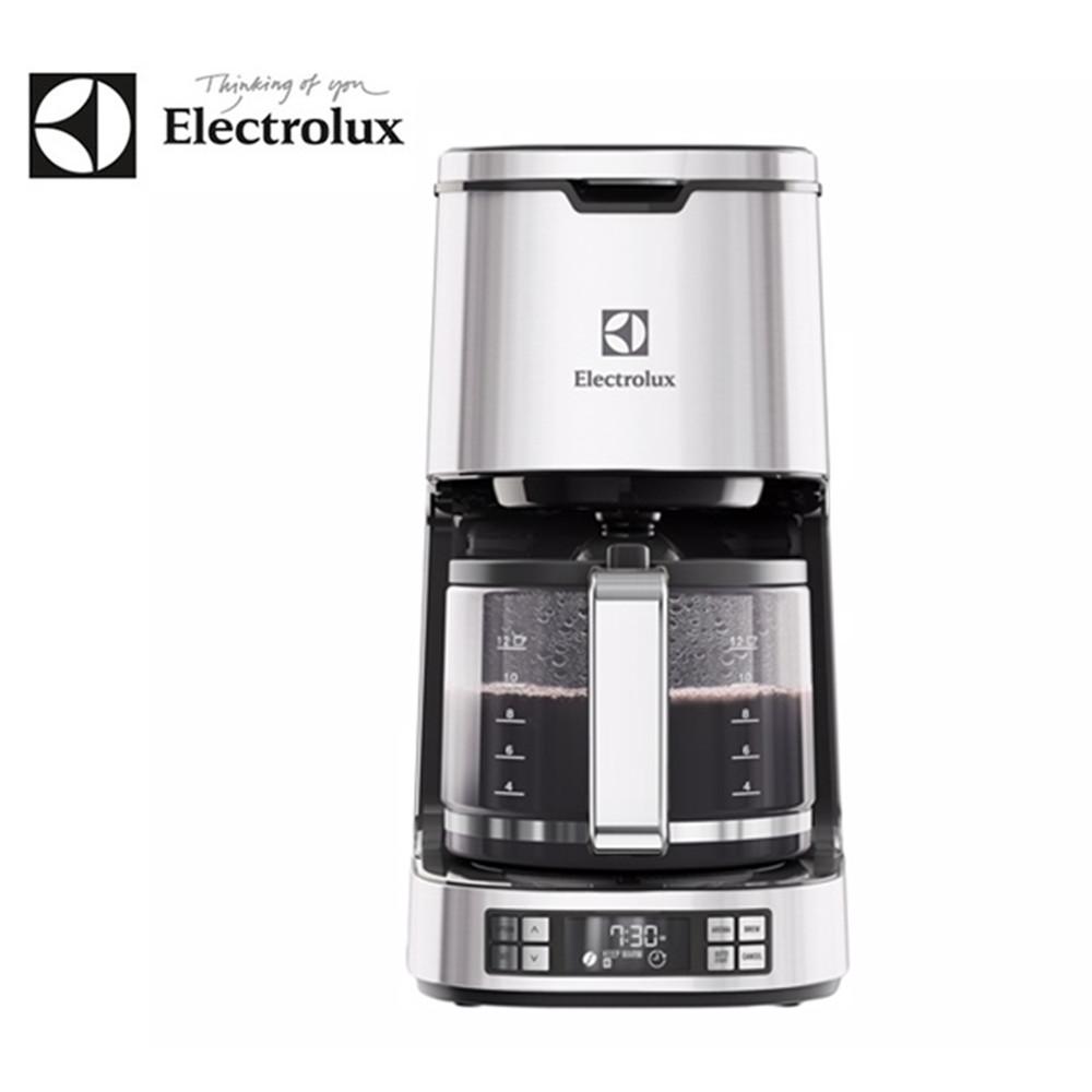 【伊萊克斯Electrolux】設計家不鏽鋼美式咖啡機 ECM7814S