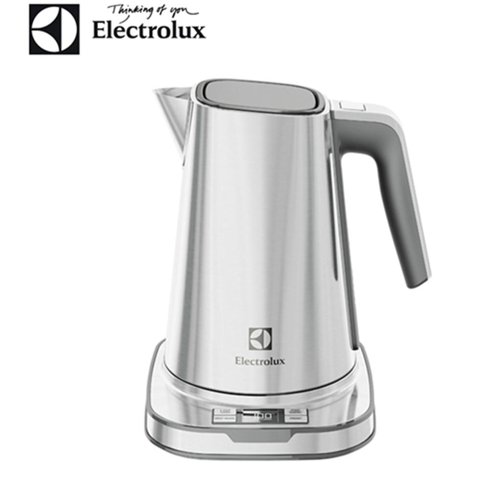 【伊萊克斯Electrolux】設計家不鏽鋼溫控電茶壼 EEK7804S