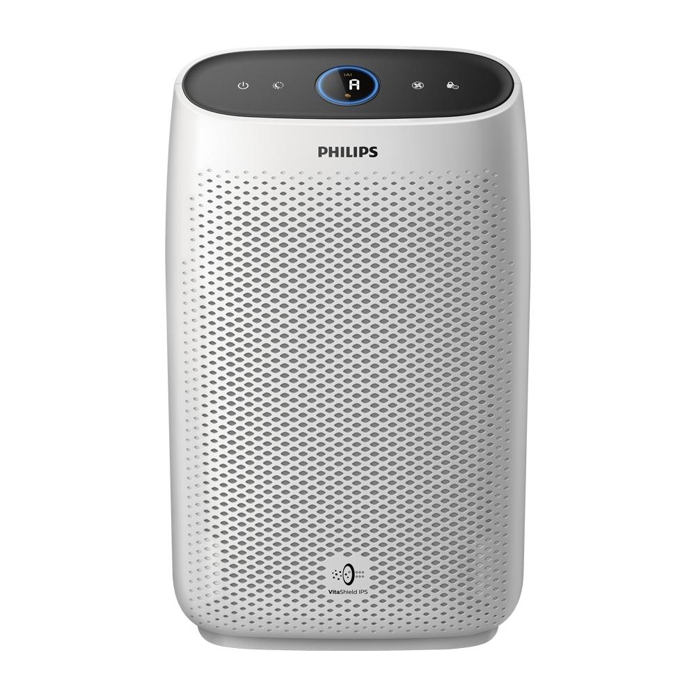 【飛利浦 PHILIPS】8-12坪 高效濾淨抗敏+舒眠 空氣清淨機 (AC1213)