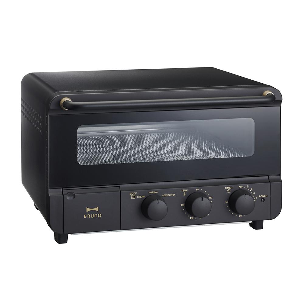 日本 BRUNO 蒸氣烘焙烤箱-磨砂黑 (BOE067) 原廠公司貨