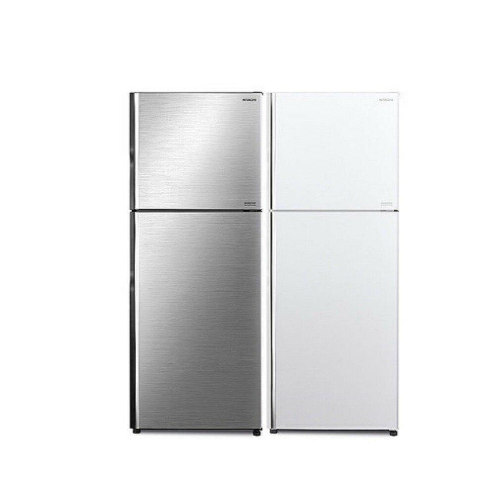 【HITACHI 日立】403L 變頻兩門冰箱 RV409 (典雅白/星燦銀)