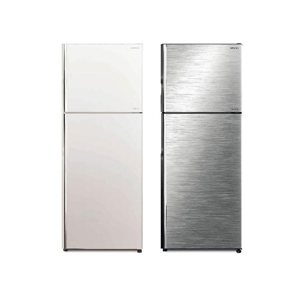 【HITACHI 日立】 443L 變頻兩門冰箱 RV449 (星燦銀/典雅白)