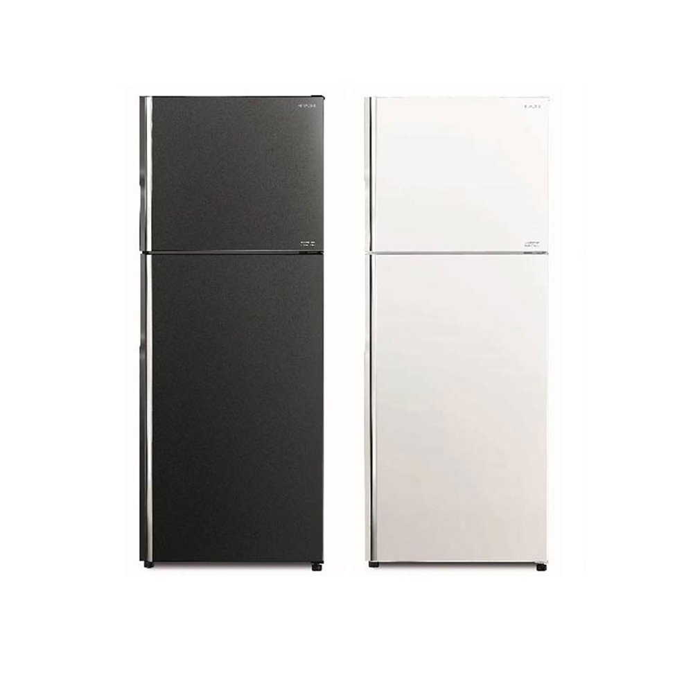 【HITACHI 日立】雙風扇 443L 變頻琉璃兩門冰箱  RG449 (琉璃白/琉璃灰)