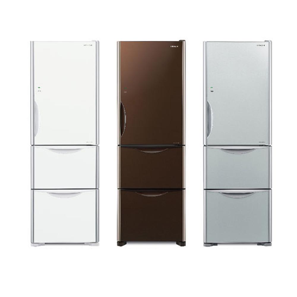 【HITACHI 日立】Solfége 331L 變頻三門電冰箱 RG36B (琉璃白/琉璃瓷/琉璃棕)