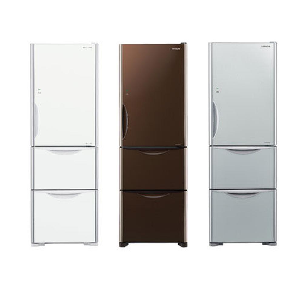 【HITACHI 日立】 Solfége 394L 變頻三門電冰箱 RG41B (琉璃白/琉璃瓷/琉璃棕)
