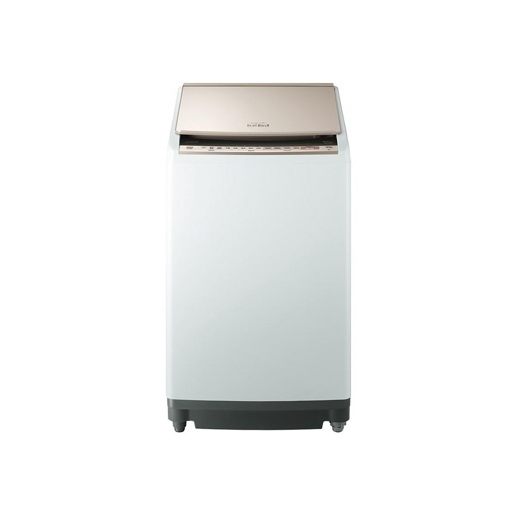 【HITACHI 日立】日本製10公斤AI洗脫烘直立洗衣機-琉璃金 (BWDV100EJ)