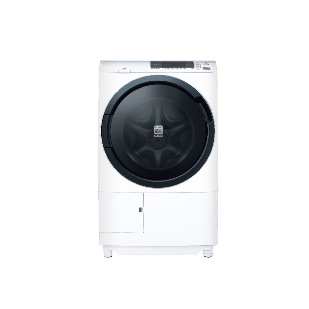 【HITACHI 日立】 日本製 11公斤 3D自動全槽清水洗淨滾筒洗脫烘 滾筒洗衣機-左開 (BDSG110CJ)