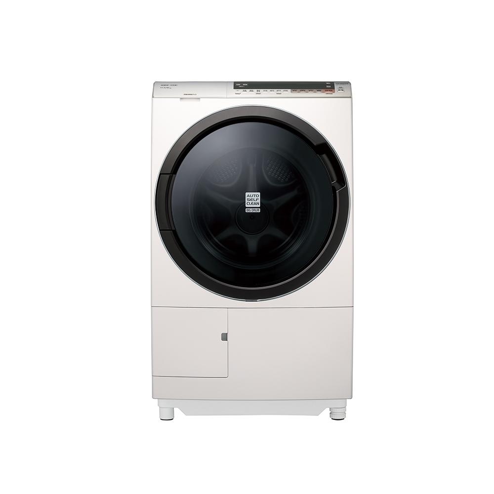 【HITACHI 日立】11.5公斤 日本原裝 AI智慧尼加拉飛瀑滾筒式洗脫烘-左開 BDSX115CJ