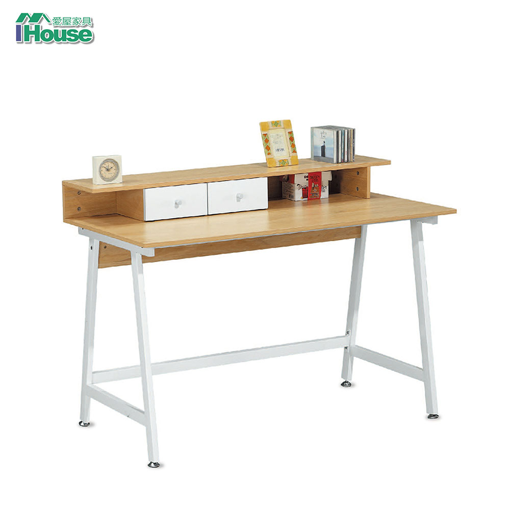 IHouse-時發 小二抽4尺辦公書桌
