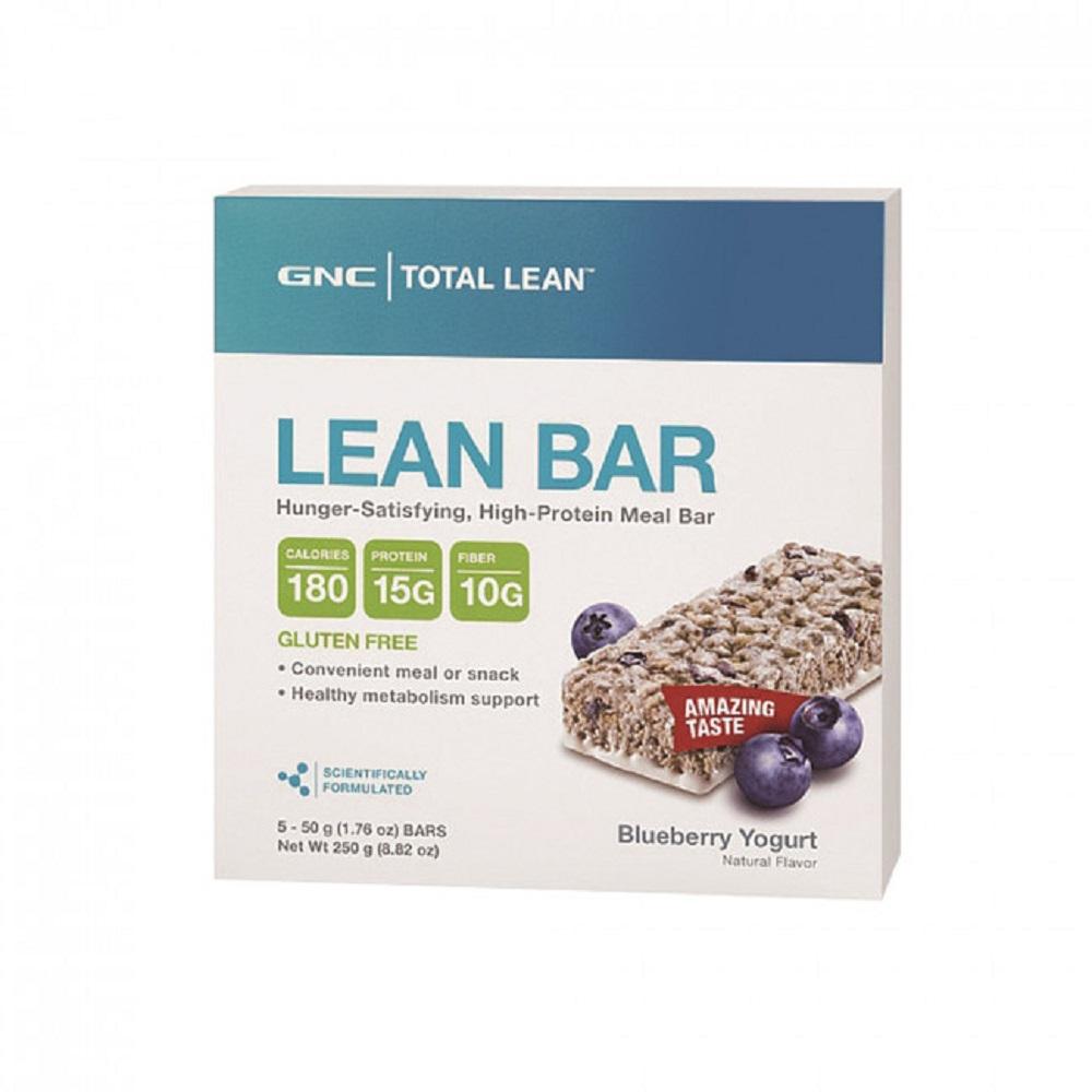【GNC健安喜】Total Lean 代餐棒-藍莓優格(5入)